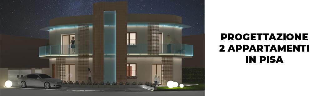 Progettazione Appartamenti Pisa notte