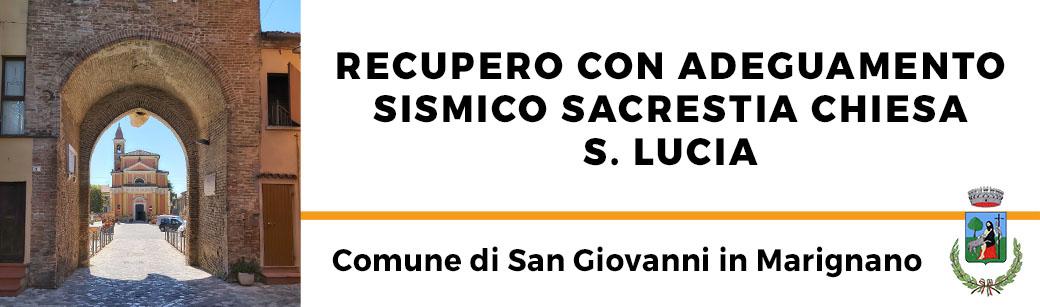 Recupero Chiesa San Giovanni in Marignano